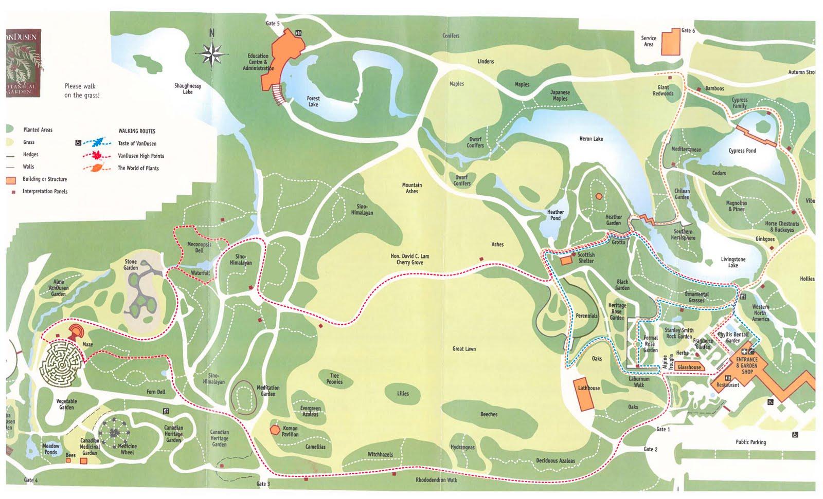 Inspirational Thoughts A Nice Afternoon in VanDusen Botanical Garden – Medicine Wheel Garden Plans