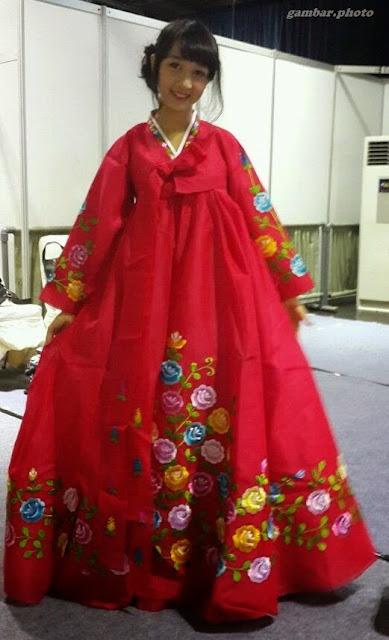 Ayana Shahab baju Korea