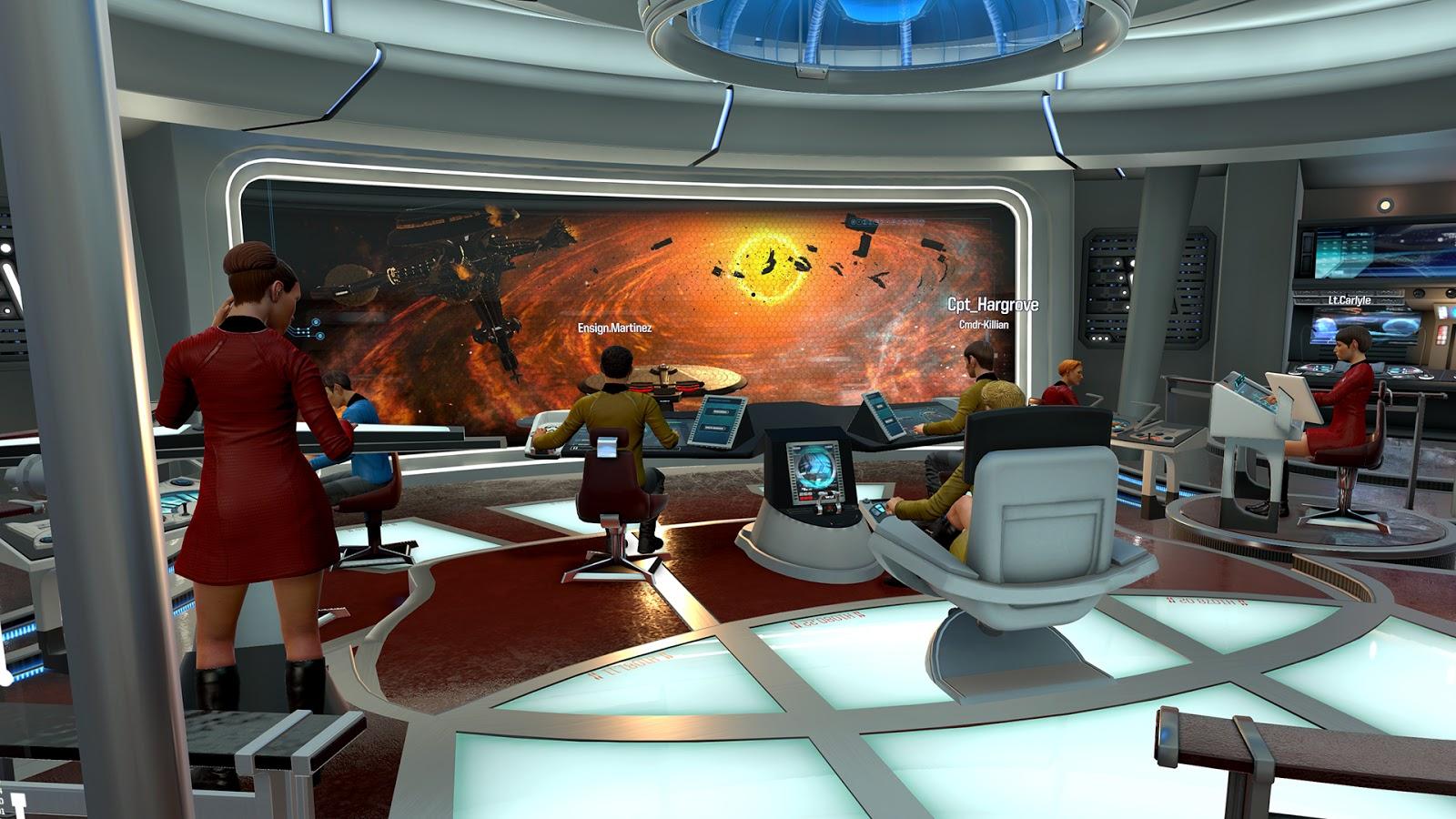 Star Trek Room Design