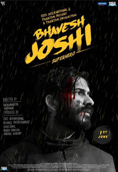 Bhavesh Joshi new upcoming movie first look, Poster of Harshvardhan Kapoor next movie download first look Poster, release date