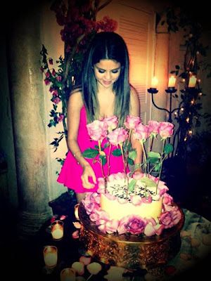 Selena Gomez's 20th birthday