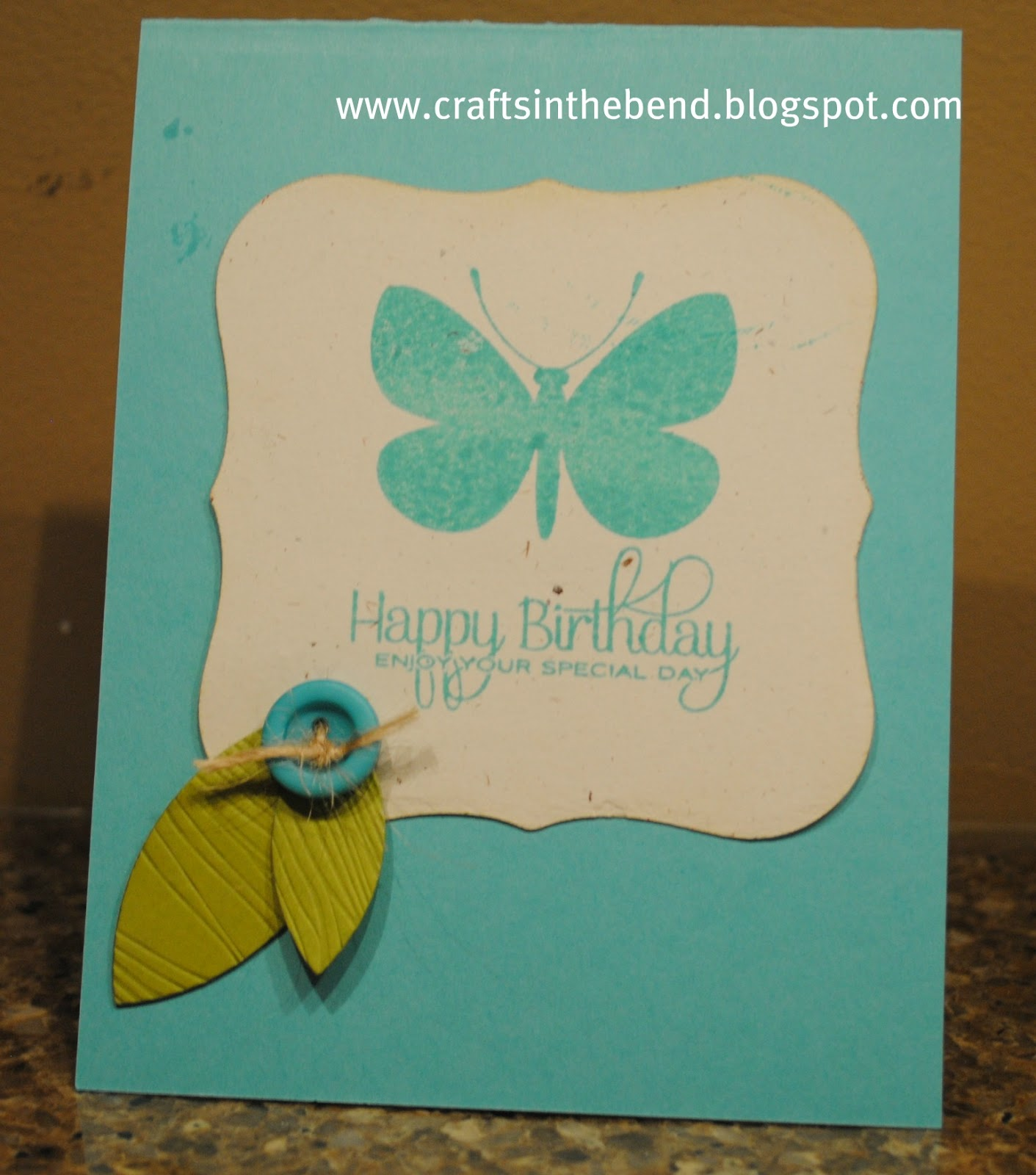 Paper Crafts In The Bend: Birthday Wishes {across The Miles}