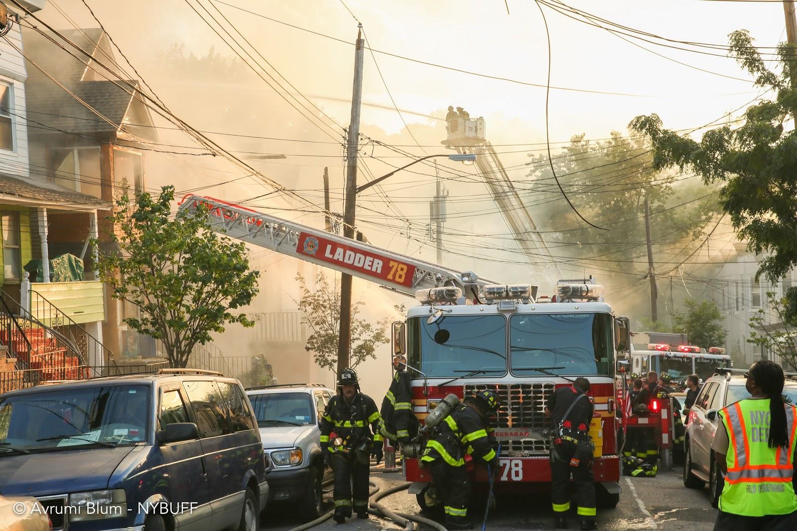 New York Buff Media: Massive Staten Island fire destroys ...
