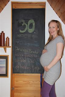 Bauchbild 30. Schwangerschaftswoche