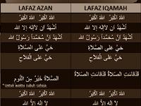 Adzan Dan Iqamah