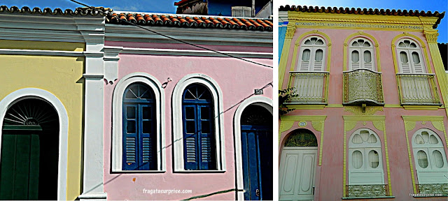 Fachadas do bairro de Santo Antonio Além do Carmo - Salvador - Bahia