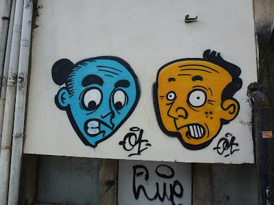 """2 x 2 - """"verärgert und erstaunt"""" - Lissabon, Hafen - hier: erstaunt!"""