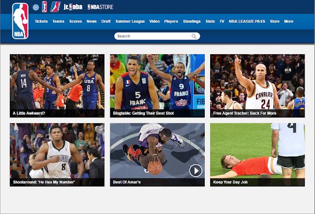用中國大陸VPN看NBA線上直播