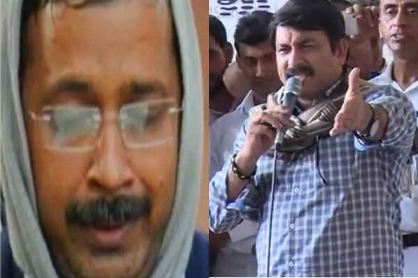 manoj-tiwari-slams-arvind-kejriwal-for-blind-on-bengal-riot