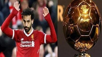 محمد صلاح, دعوة الكاف, لجائزة أفضل لاعب في العالم