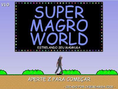 JOGO - SUPER MAGRO WORLD