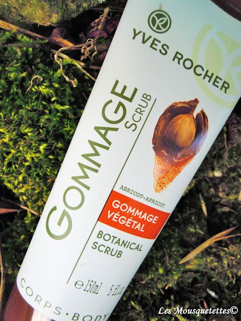 Gommage Yves Rocher - Les Mousquetettes©