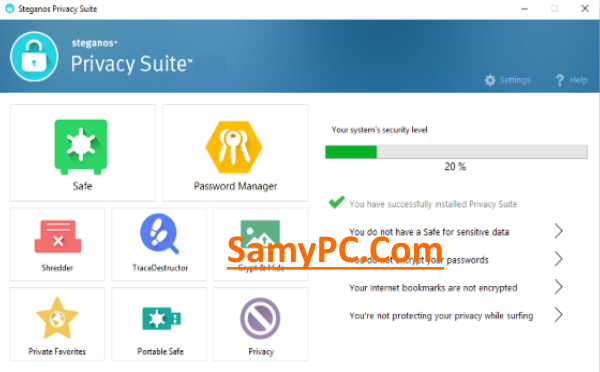 Steganos Privacy Suite Free Download Full Latest Version