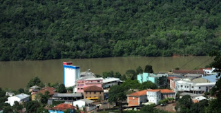 Rio Pelotas em Marcelino Ramos