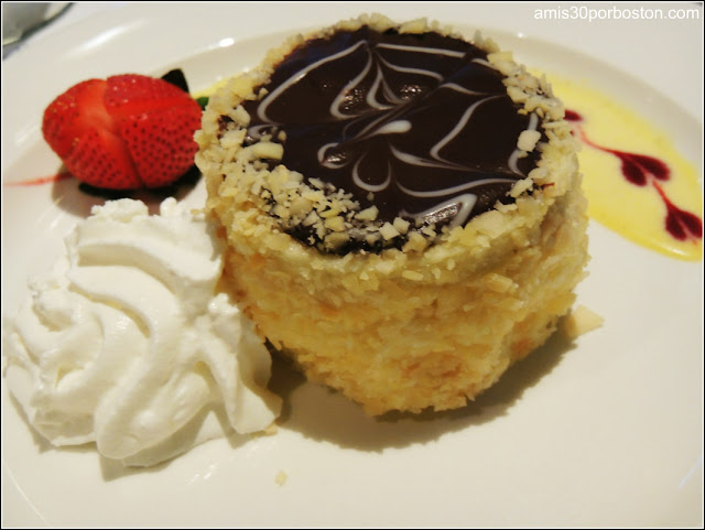 Boston Cream Pie $9