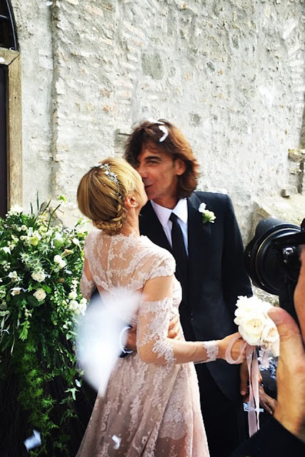 Wedding - Frida Giannini in Valentino haute couture - Cool Chic Style Fashion