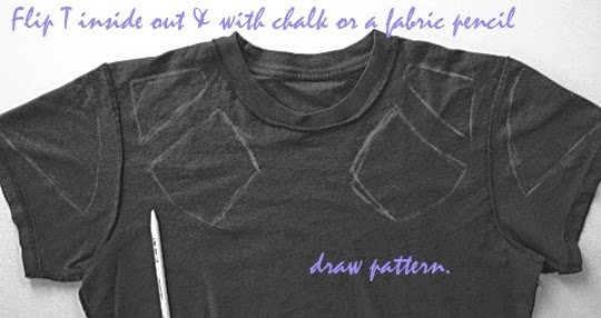diy: camiseta recortada
