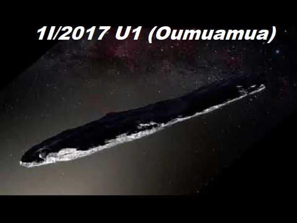 5 cosas sobre oumuamua que si sabemos