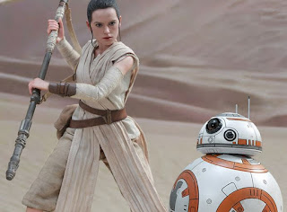 Picture of Sideshow Collectibles sixth scale Rey & BB-8