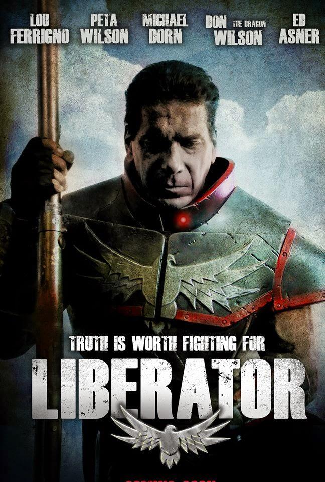 Lou Ferrigno's Liberator - Cover