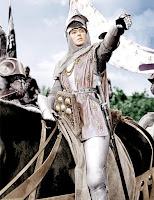 Ingrid Bergman en Jeanne d'Arc dans le film de Victor Fleming (1948)