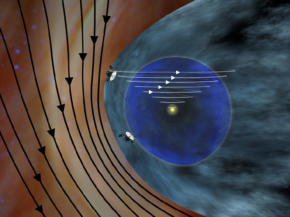 SILENT OBSERVER: NASA Voyager 1 Encounters New Region in ...