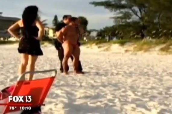 Beach sex public