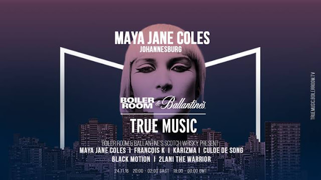 maya jane coles boiler room and true music