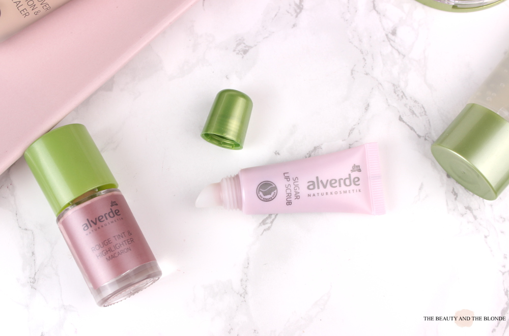 Alverde Neuheiten 2017 Sugar Lip Scrub Review