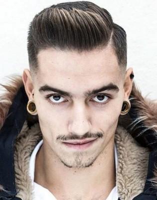 gaya rambut jambul laki laki