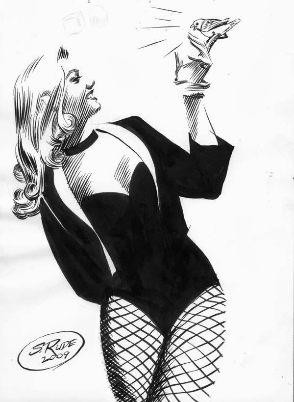 Fashion And Action Black Canary Art Gallery