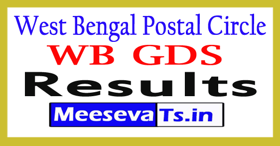 West Bengal Post Office Result 2017
