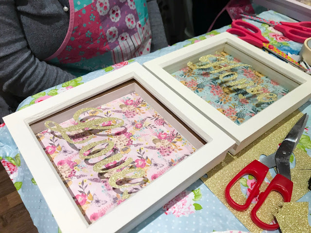 Valentine's Day Frame Craft DIY Workshop - Make Do & Trend
