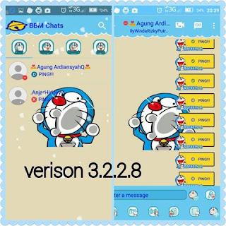 BBM Mod Doraemon V3.2.2.8 Apk