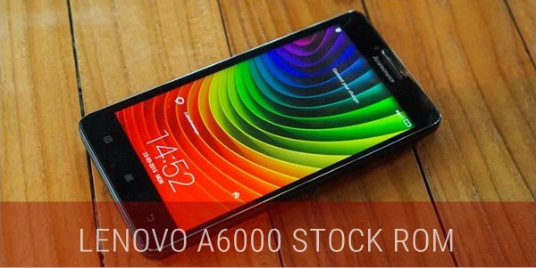 Latest Update Lenovo A6000 Stock ROM