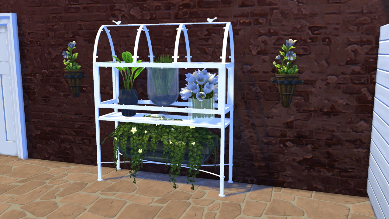 my sims 4 blog antique greenhouse by meinkatz creations. Black Bedroom Furniture Sets. Home Design Ideas
