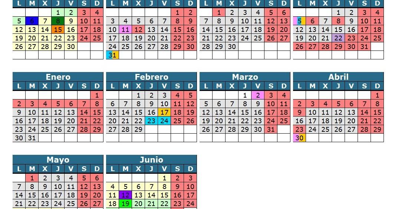 Calendario 2011 Espana.Profesor De Eso Calendario Escolar 2010 11 Y 2011 12 Una Vez Mas
