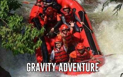 Rafting Bandung Gravity Adventure