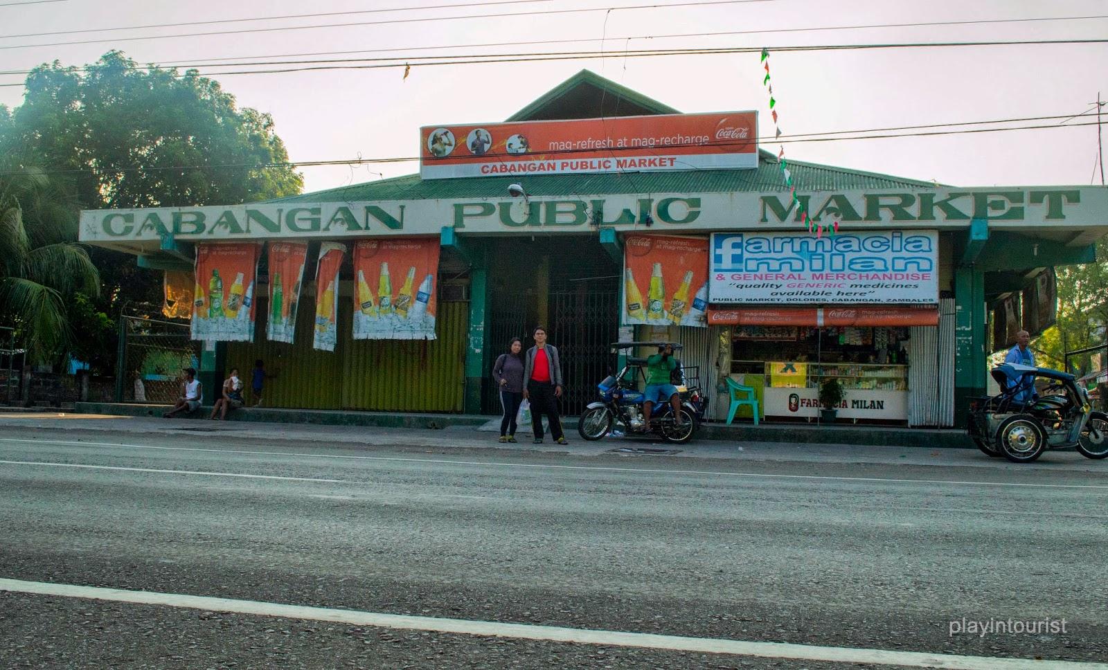 Cabangan Market