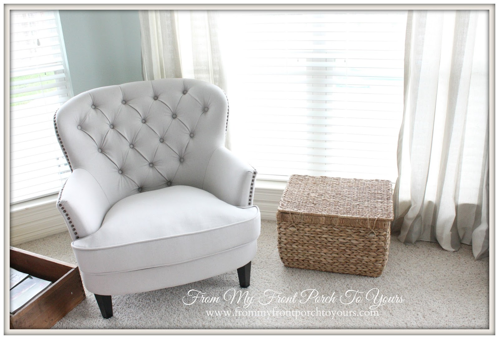 Chairs For Reading Corner From My Front Porch To Yours Creating A Reading Nook With A Diy