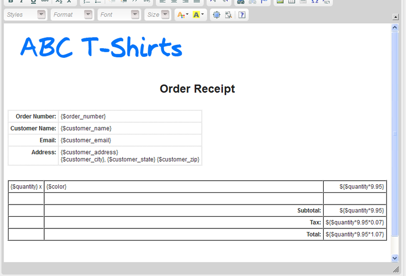 Simple T shirt order form templates Free Templates Download – How to Create a Form Template in Word
