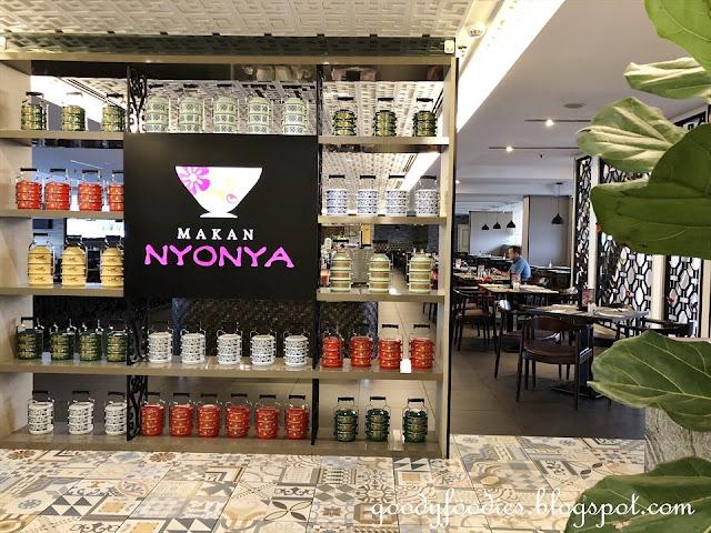 Makan Nyonya, Estadia Melaka