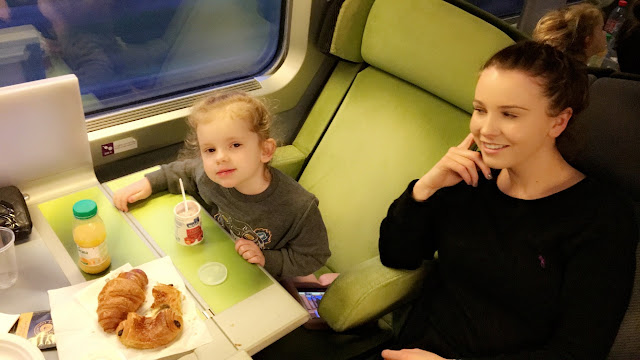 TGV to Euro Disney