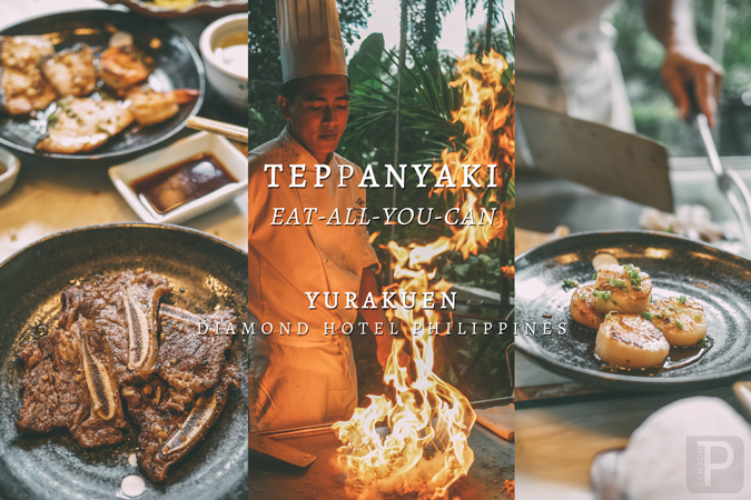 Yurakuen at the Diamond Hotel Philippines: Best Teppanyaki in Manila?