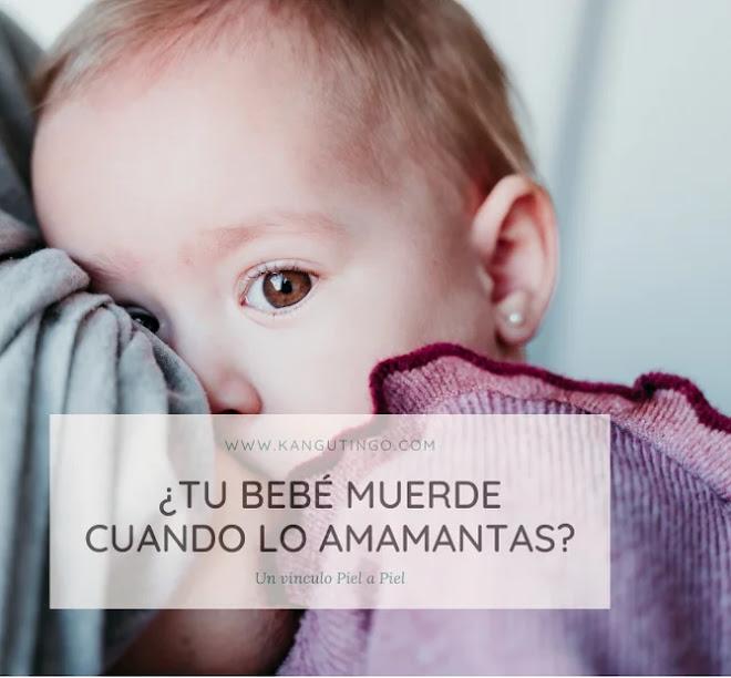 ¿Tu Bebé Muerde Cuando lo Amamantas?