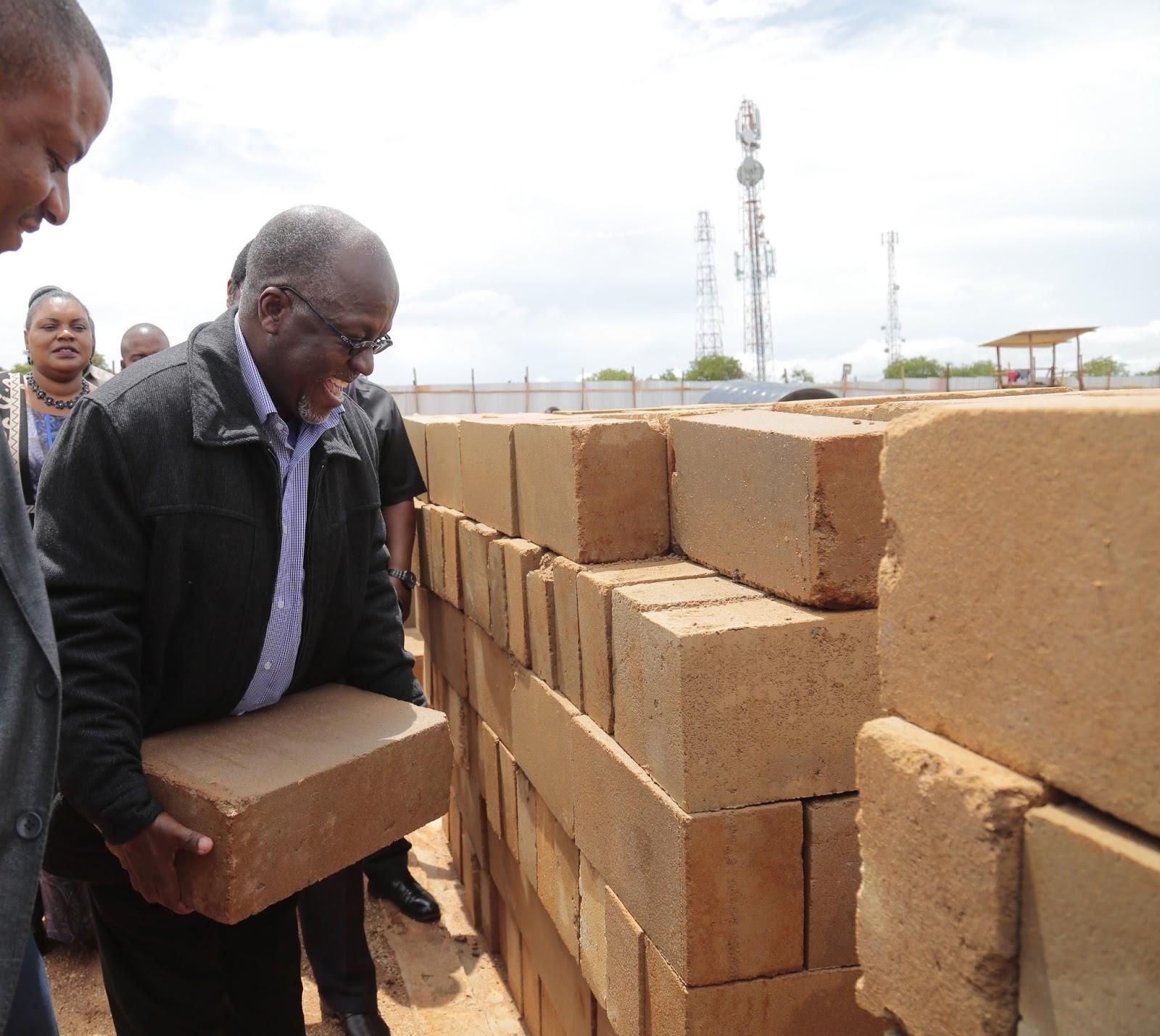 Magufuli Ashiriki Ujenzi wa Ikulu Mpya Dodoma,Atoa Ahadi ...