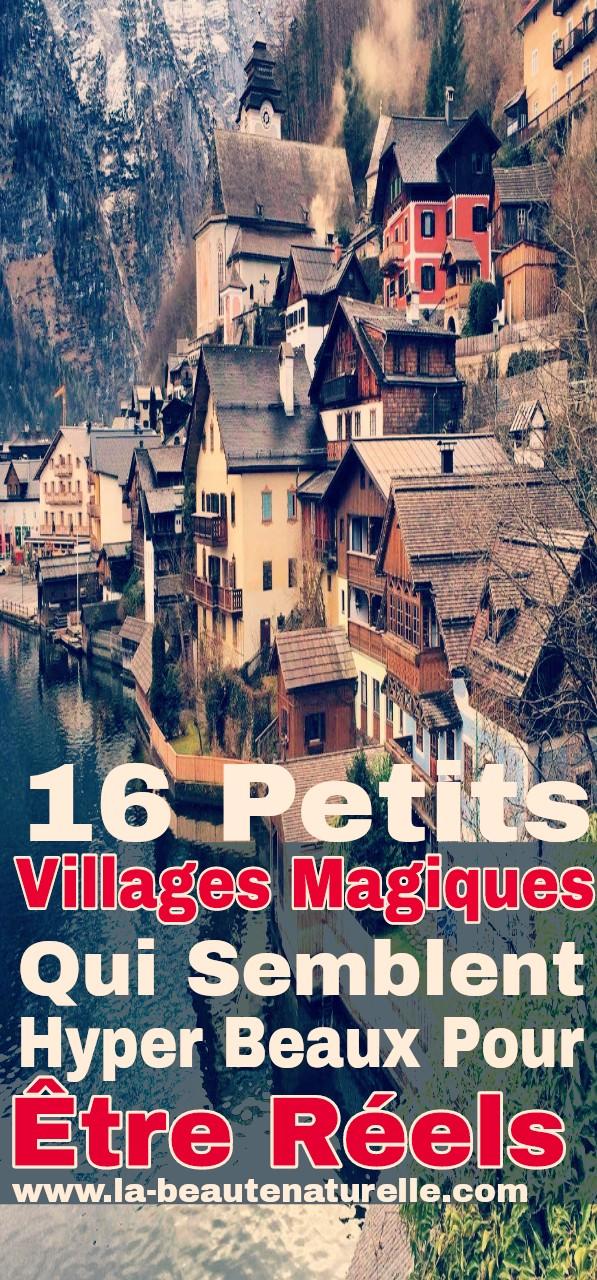 16 Petits villages magiques qui semblent hyper beaux pour être réels