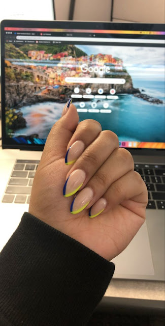 because this nail inspo is going to create you would like a new paint job stat ✘ +25 Latest Matte And Celebrity Nail Art design To Copy In 2020