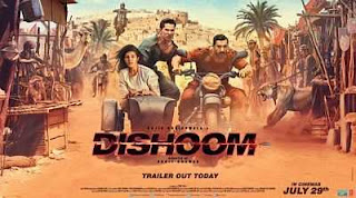 Dishoom (2016) Hindi 300mb Movie Download DesiSCR