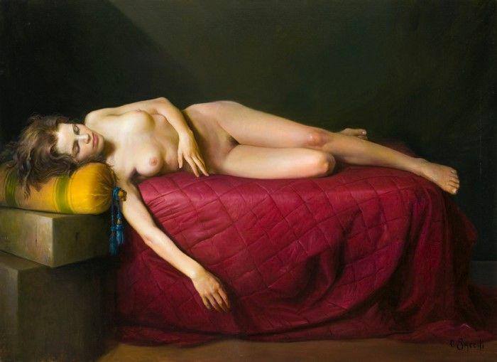 Итальянский художник. Claudio Sacchi